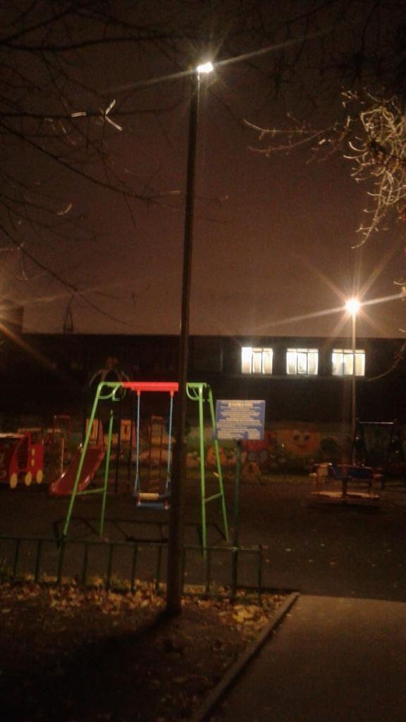 Опоры наружного освещения появились в Останкине по 16 адресам