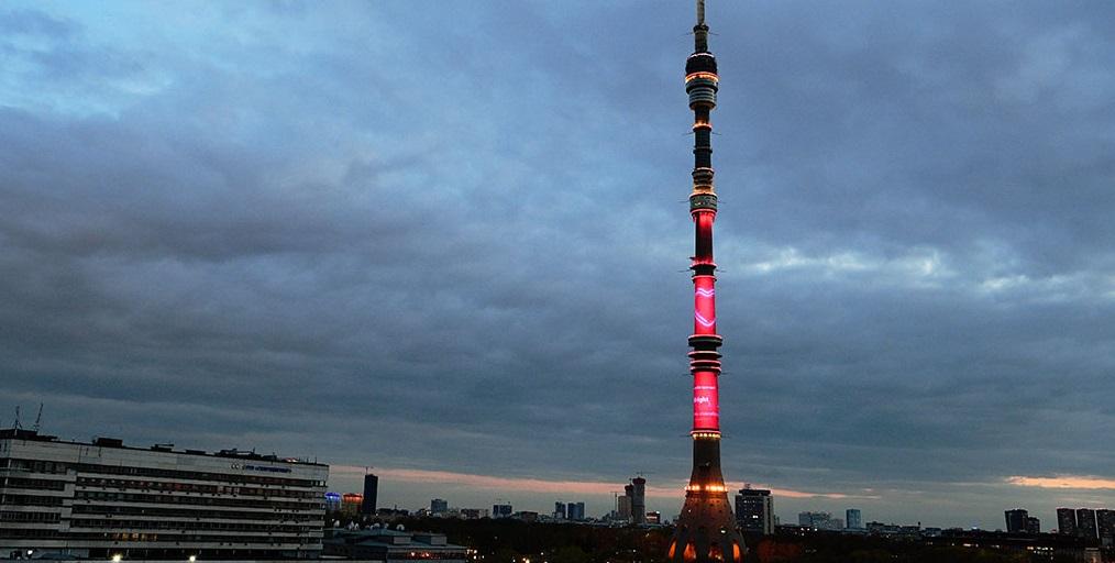Видеоролик в благодарность медикам на Останкинской башне будут показывать до 1 июля