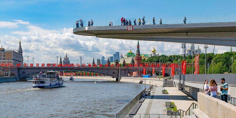 Сезон речной навигации стартовал в Москве