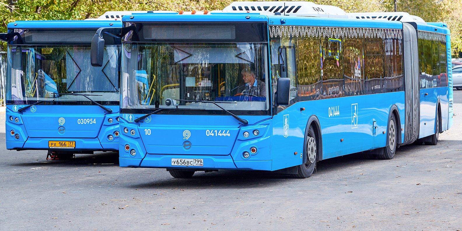 У нескольких автобусов в Останкине изменятся маршруты 28 ноября