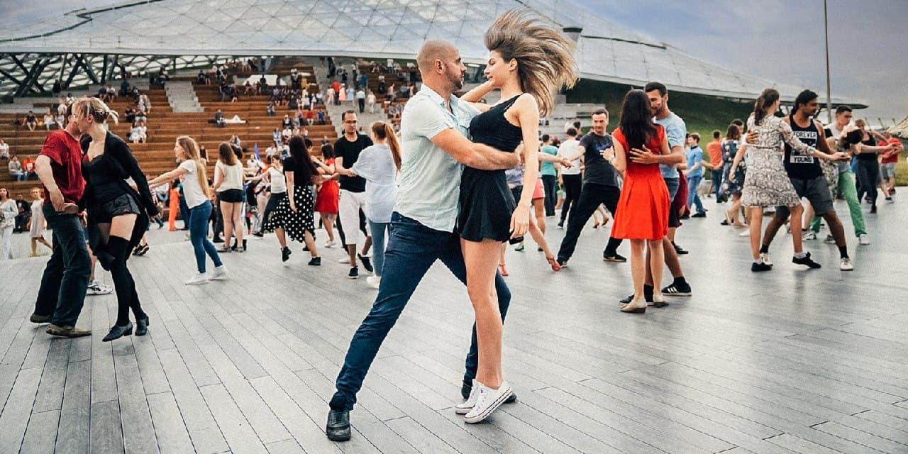 В Останкине прошел танцевальный мастер-класс