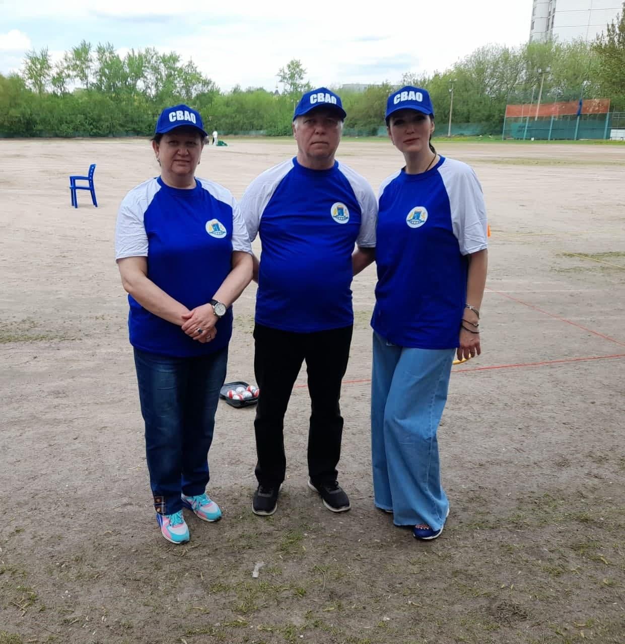 Команда по петанку из Останкино стала призером на соревнованиях