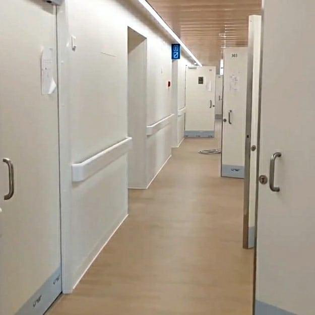 В больнице на Бочкова начался финальный этап отделки помещений